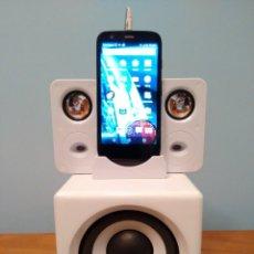 Radios antiguas: ALTAVOCES AMPLIFICADOR PARA SMARTPHONE Y REPRODUCTOR DE MP3. Lote 82647968