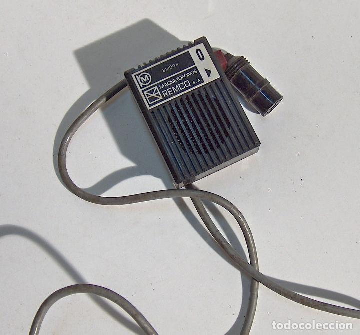 MICROFONO MAGNETOFONO, MAGNE FONO, REMCO (Radios, Gramófonos, Grabadoras y Otros - Amplificadores y Micrófonos de Válvulas)
