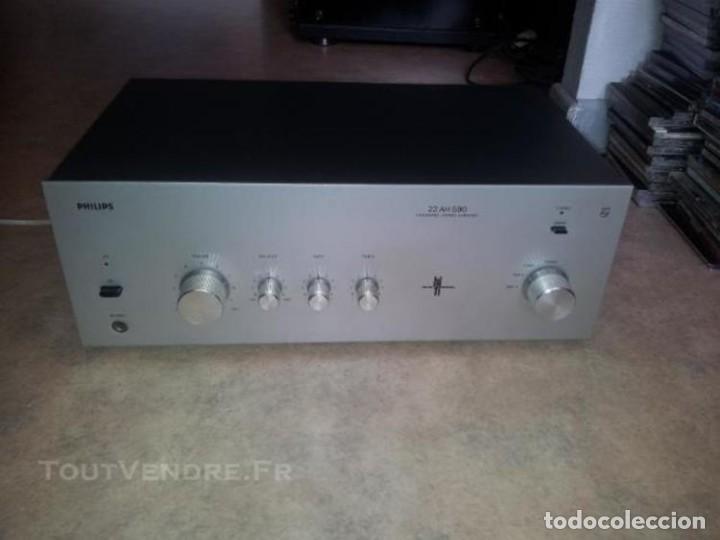 AMPLIFICADOR PHILIPS 22AH590 (Radios, Gramófonos, Grabadoras y Otros - Amplificadores y Micrófonos de Válvulas)