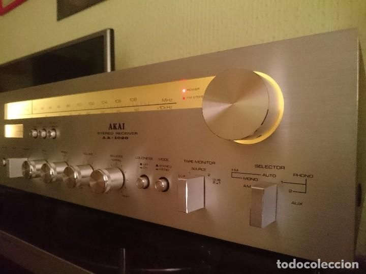 Radios antiguas: amplificador AKAI AA-1020 1976-1979 - Foto 3 - 87445868
