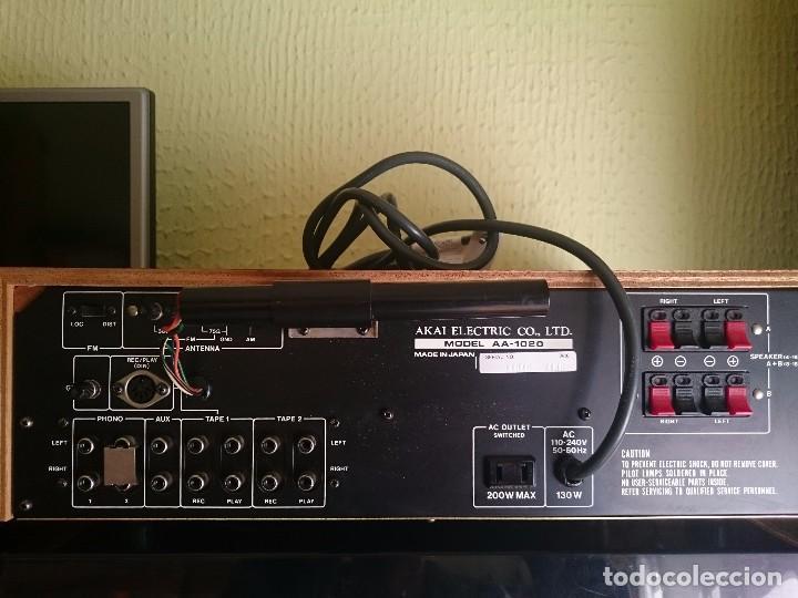 Radios antiguas: amplificador AKAI AA-1020 1976-1979 - Foto 5 - 87445868