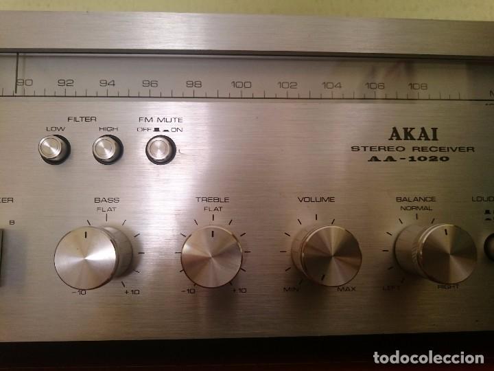 Radios antiguas: amplificador AKAI AA-1020 1976-1979 - Foto 8 - 87445868