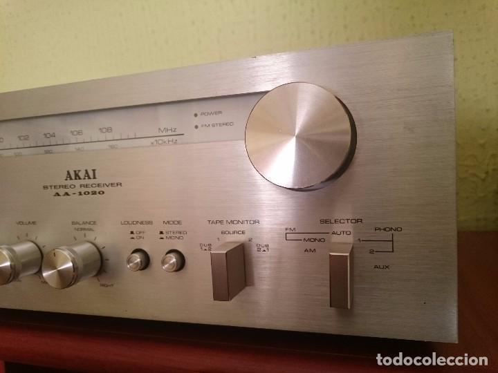 Radios antiguas: amplificador AKAI AA-1020 1976-1979 - Foto 10 - 87445868