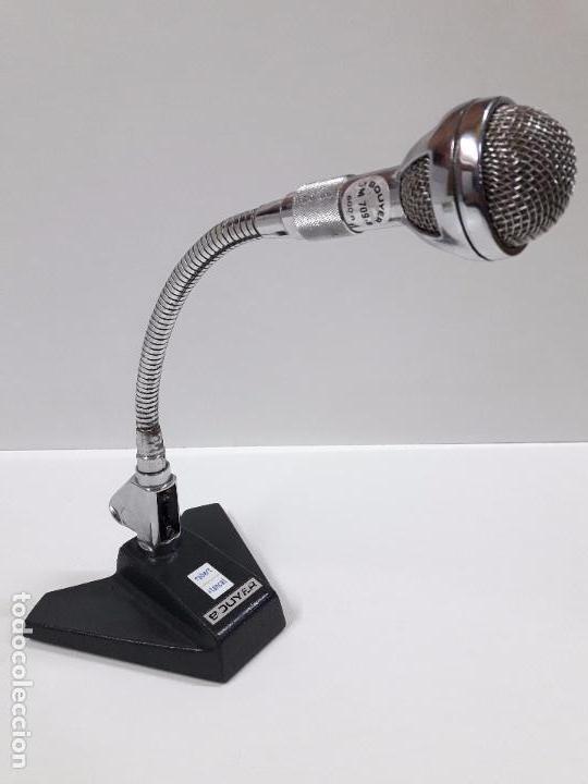 MICROFONO BOUYER . FLEXIBLE . VINTAGE AÑOS 60 / 70 (Radios, Gramófonos, Grabadoras y Otros - Amplificadores y Micrófonos de Válvulas)