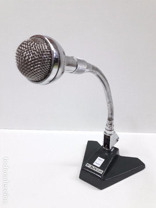 Radios antiguas: MICROFONO BOUYER . FLEXIBLE . VINTAGE AÑOS 60 / 70 - Foto 2 - 88166152
