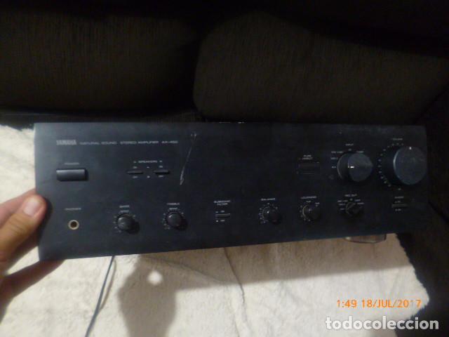 Radios antiguas: amplificador yamaha made in japan - Foto 2 - 93313095
