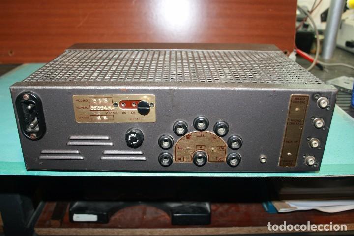 AMPLIFICADOR OPTIMUS (Radios, Gramófonos, Grabadoras y Otros - Amplificadores y Micrófonos de Válvulas)