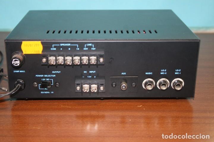 Radios antiguas: AMPLIFICADOR OPTIMUS A BATERIAS. - Foto 2 - 96774299
