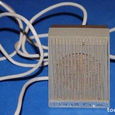 Radios antiguas: MICROFONO MAGNETOFON SOBREMESA INGRA M101 AÑOS 60. Lote 97249587