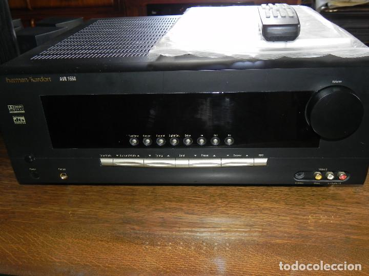 Radios antiguas: ** HARMAN KARDON AVR 1550 HOME CINEMA AMPLIFICADOR** - Foto 3 - 97797199