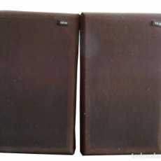 Radios antiguas: 2 ALTAVOCES AKAI ELECTRIC COL, LTD. MADE IN JAPAN 1976. Lote 98204923