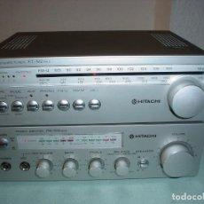 Radios antiguas: MINI AMPLIFICADOR HITACHI HA-M2-MKII. Lote 100459307