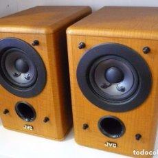 Radios antiguas: JVC ALTAVOCES COMPACTOS HI-FI DE RANGO COMPLETO (FULL RANGE) PERFECTO ESTADO. Lote 102050699