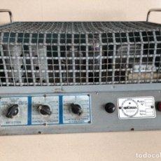 Radios antiguas: AMPLIFICADOR DE VÁLVULAS OPTIMUS. Lote 103449995