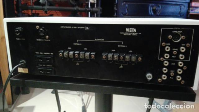 Radios antiguas: Amplificador VIETA A3024 - Foto 3 - 103583855