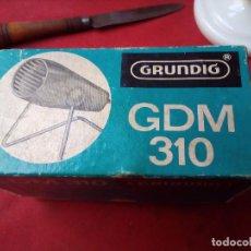 Radios antiguas: MICRÓFONO GRUNDIG GDM 310 MICROPHONE MIKROPHON. Lote 104550495
