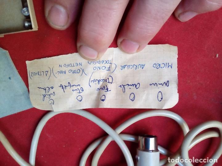 Radios antiguas: MICRÓFONO GRUNDIG GDM 310 MICROPHONE MIKROPHON - Foto 9 - 104550495