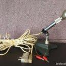 Radios antiguas: ANTIGUO MICRÓFONO BOUYER CON PIE DE SOBREMESA . Lote 105256483