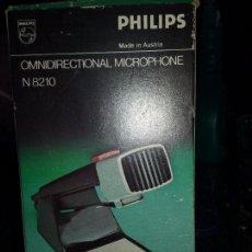 Radios antiguas: PHILIPS. ANTIGUO MICROFONO OMNIDIRECCIONAL N 8210. Lote 105685871