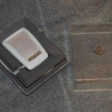 Radios antiguas: ANTIGUO MICRÓFONO D11C TELEFUNKEN EN CAJA ORIGINAL - MUY ANTIGUO - MUY BUEN ESTADO Y FUNCIONANDO. Lote 107927714
