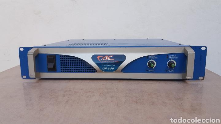ETAPA DE POTENCIA ACOUSTIC CONTROL UP-305 (Radios, Gramófonos, Grabadoras y Otros - Amplificadores y Micrófonos de Válvulas)