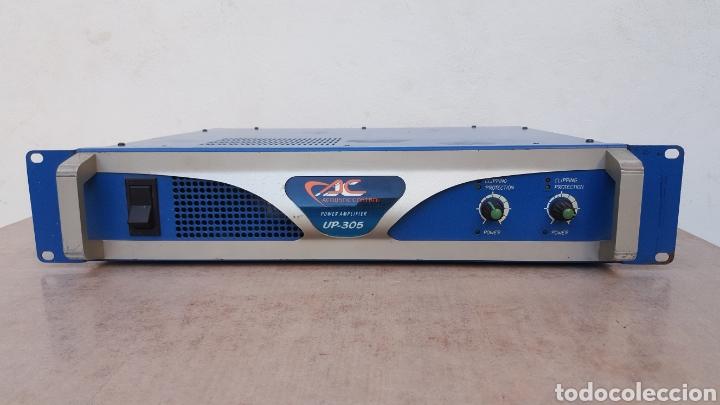 Radios antiguas: Etapa de potencia Acoustic Control UP-305 - Foto 2 - 112187867