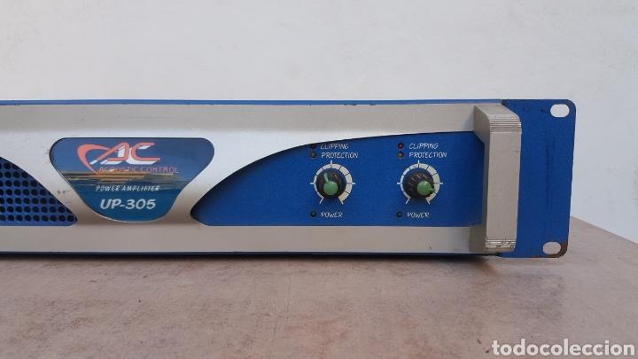 Radios antiguas: Etapa de potencia Acoustic Control UP-305 - Foto 3 - 112187867