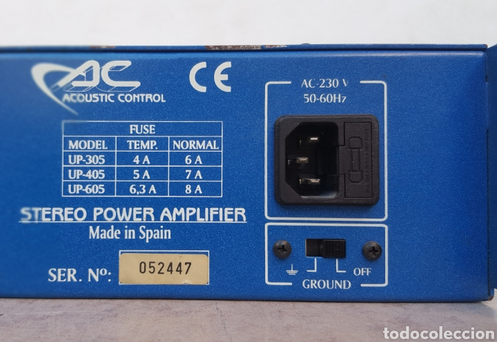 Radios antiguas: Etapa de potencia Acoustic Control UP-305 - Foto 9 - 112187867