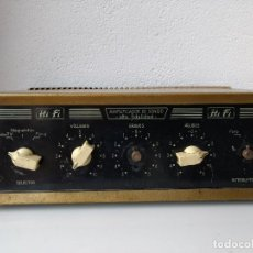 Radios antiguas: AMPLIFICADOR A VÁLVULAS. Lote 112481623