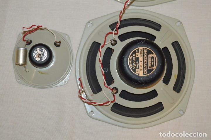 Radios antiguas: Vintage - ROSELSON HIFI - Conjunto altavoces para amplificador de válvulas - Muy buen estado ¡Mira! - Foto 2 - 112521251