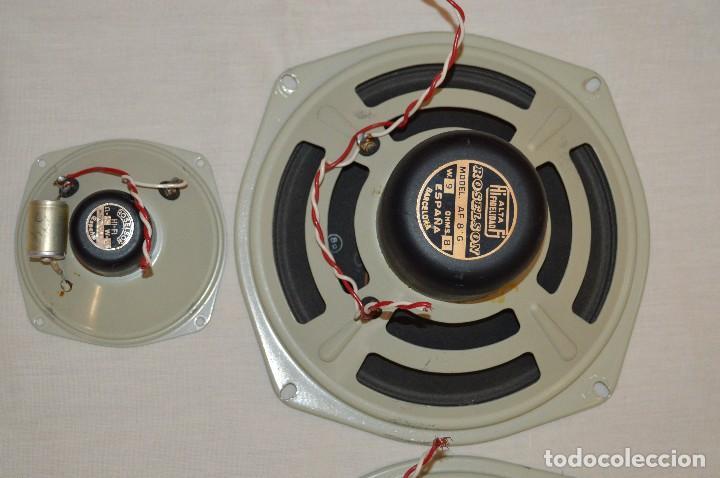 Radios antiguas: Vintage - ROSELSON HIFI - Conjunto altavoces para amplificador de válvulas - Muy buen estado ¡Mira! - Foto 3 - 112521251