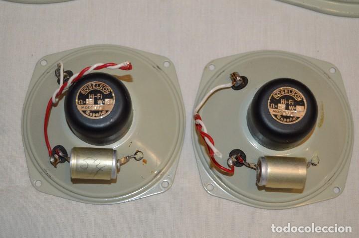 Radios antiguas: Vintage - ROSELSON HIFI - Conjunto altavoces para amplificador de válvulas - Muy buen estado ¡Mira! - Foto 5 - 112521251
