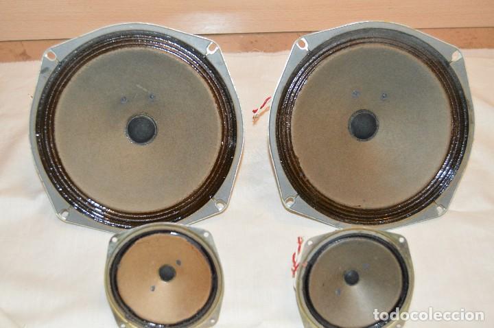 Radios antiguas: Vintage - ROSELSON HIFI - Conjunto altavoces para amplificador de válvulas - Muy buen estado ¡Mira! - Foto 8 - 112521251