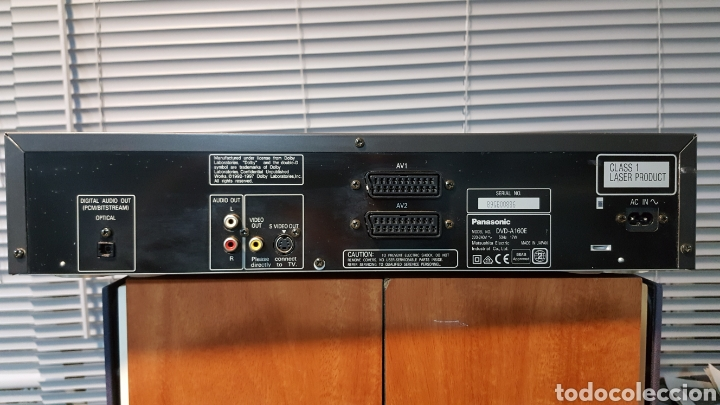 Radios antiguas: REPRODUCTOR DE CD/DVD PANASONIC A-160E - Foto 7 - 113297372
