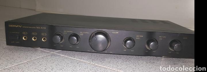 Radios antiguas: Amplificador de Karaoke Boman MA-X116 - Foto 3 - 113297595