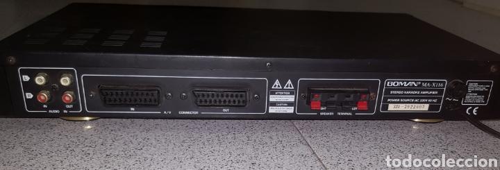 Radios antiguas: Amplificador de Karaoke Boman MA-X116 - Foto 5 - 113297595