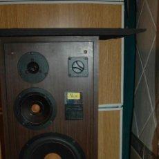 Radios antiguas: PAREJA DE ALTAVOCES MK -30 VINTAJE MADERA FUNCIONANDO VER FOTOS. Lote 114723943