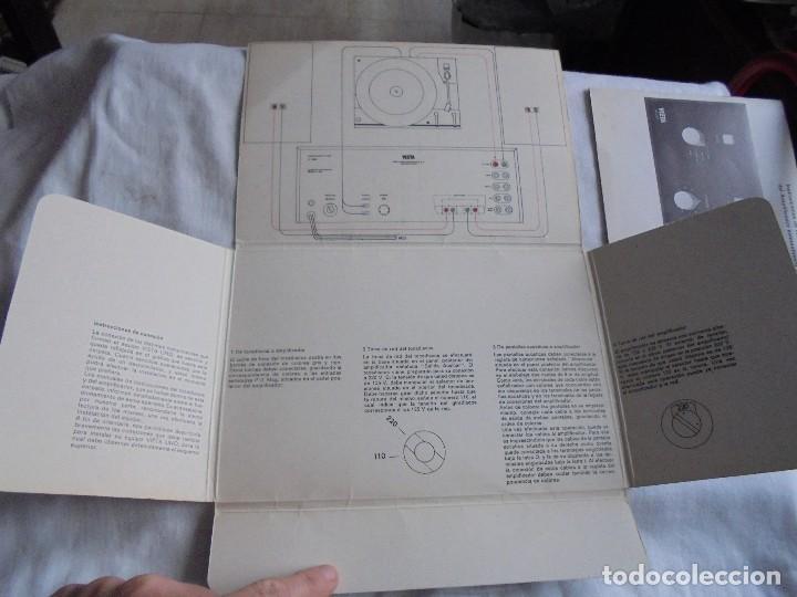 Radios antiguas: INSTRUCCIONES DE INSTALACION Y FUNCIONAMIENTO DEL AMPLIFICADOR ESTEREOFONICO VIETA MODELO AT-220 B - Foto 2 - 116776743
