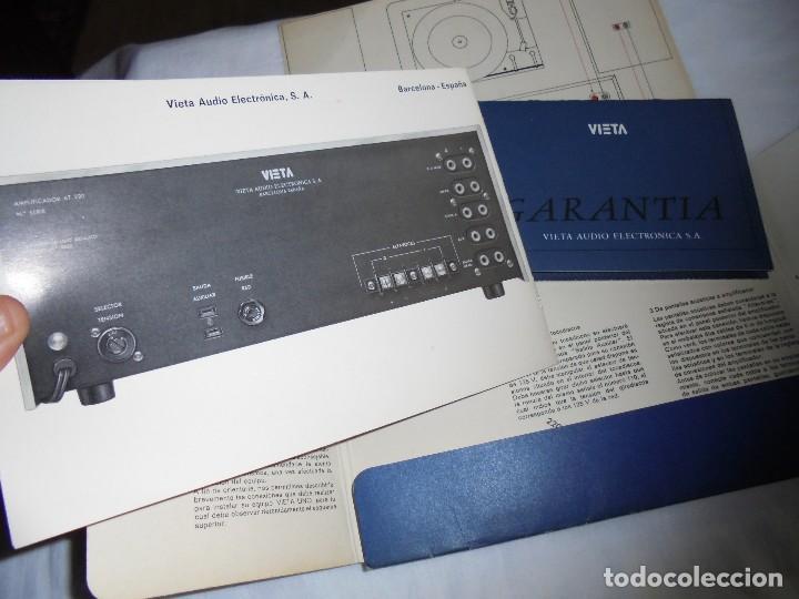 Radios antiguas: INSTRUCCIONES DE INSTALACION Y FUNCIONAMIENTO DEL AMPLIFICADOR ESTEREOFONICO VIETA MODELO AT-220 B - Foto 6 - 116776743