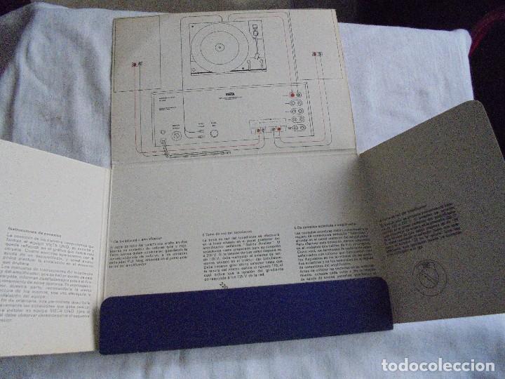Radios antiguas: INSTRUCCIONES DE INSTALACION Y FUNCIONAMIENTO DEL AMPLIFICADOR ESTEREOFONICO VIETA MODELO AT-220 B - Foto 7 - 116776743