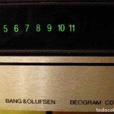 Radios antiguas: LECTOR CD BANG & OLUFSEN BEOGRAM CD50 - BURR BROWN PCM53 LASER DE CRISTAL -AÑO 1984. Lote 116968967