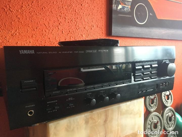 AMPLIFICADOR YAMAHA MODELO DSP-A592 (Radios, Gramófonos, Grabadoras y Otros - Amplificadores y Micrófonos de Válvulas)