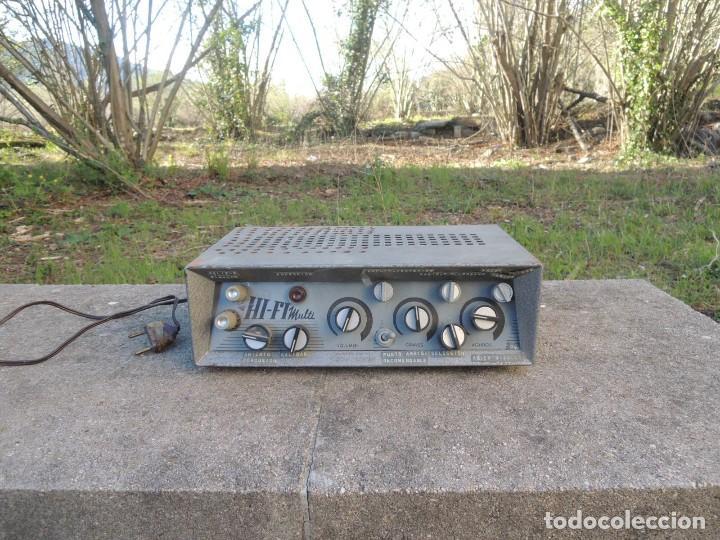 AMPLIFICADOR HIFI MULTI (Radios, Gramófonos, Grabadoras y Otros - Amplificadores y Micrófonos de Válvulas)