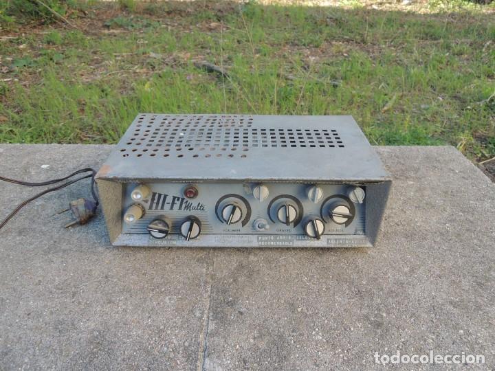 Radios antiguas: AMPLIFICADOR HIFI MULTI - Foto 2 - 127970043