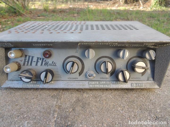 Radios antiguas: AMPLIFICADOR HIFI MULTI - Foto 4 - 127970043