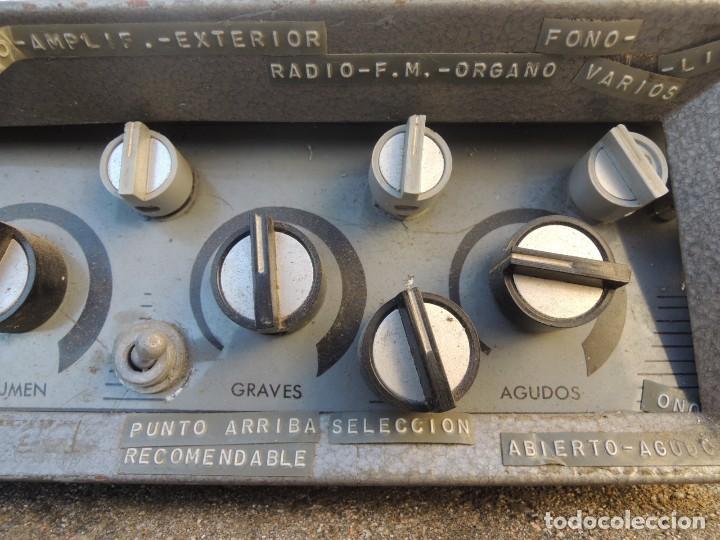 Radios antiguas: AMPLIFICADOR HIFI MULTI - Foto 6 - 127970043