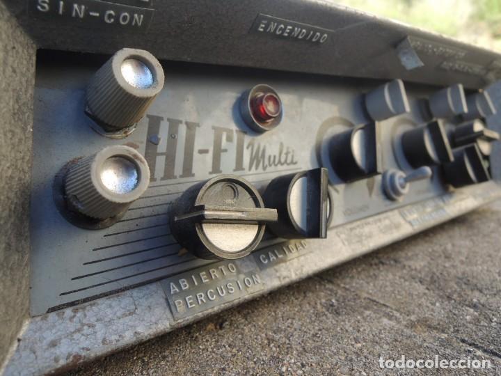 Radios antiguas: AMPLIFICADOR HIFI MULTI - Foto 7 - 127970043