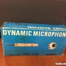 Radios antiguas: DYNAMIC MICROPHONE DM-170. Lote 127996459