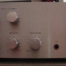 Radios antiguas: AMPLIFICADOR SONY. Lote 128910207