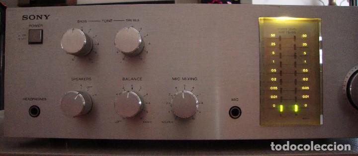 Radios antiguas: AMPLIFICADOR SONY - Foto 2 - 128910207